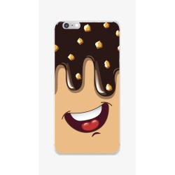 Funda Gel Tpu para Iphone 6 / 6S Diseño Helado Chocolate Dibujos