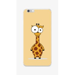 Funda Gel Tpu para Iphone 6 / 6S Diseño Jirafa Dibujos