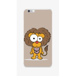 Funda Gel Tpu para Iphone 6 / 6S Diseño Leon Dibujos