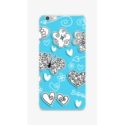 Funda Gel Tpu para Iphone 6 / 6S Diseño Mariposas Dibujos