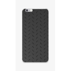 Funda Gel Tpu para Iphone 6 / 6S Diseño Metal Dibujos