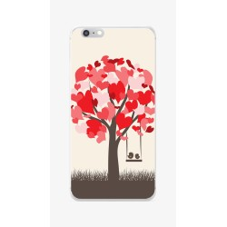 Funda Gel Tpu para Iphone 6 / 6S Diseño Pajaritos Dibujos