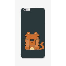 Funda Gel Tpu para Iphone 6 / 6S Diseño Tigre Dibujos