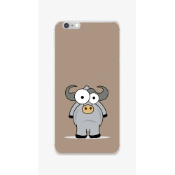 Funda Gel Tpu para Iphone 6 / 6S Diseño Toro Dibujos