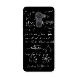 Funda Gel Tpu para Vodafone Smart Platinum 7 Diseño Formulas Dibujos