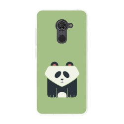 Funda Gel Tpu para Vodafone Smart Platinum 7 Diseño Panda Dibujos