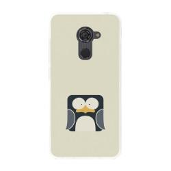 Funda Gel Tpu para Vodafone Smart Platinum 7 Diseño Pingüino Dibujos