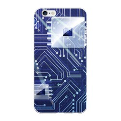 Funda Gel Tpu para Iphone 6 Plus / 6S Plus Diseño Circuito Dibujos