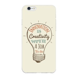 Funda Gel Tpu para Iphone 6 Plus / 6S Plus Diseño Creativity Dibujos