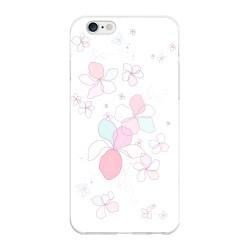 Funda Gel Tpu para Iphone 6 Plus / 6S Plus Diseño Flores-Minimal Dibujos