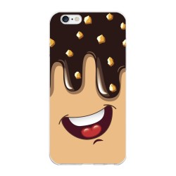 Funda Gel Tpu para Iphone 6 Plus / 6S Plus Diseño Helado Chocolate Dibujos
