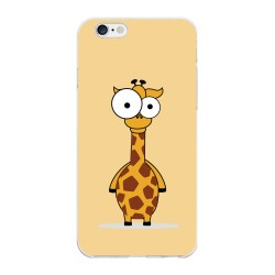 Funda Gel Tpu para Iphone 6 Plus / 6S Plus Diseño Jirafa Dibujos