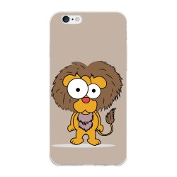 Funda Gel Tpu para Iphone 6 Plus / 6S Plus Diseño Leon Dibujos