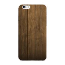 Funda Gel Tpu para Iphone 6 Plus / 6S Plus Diseño Madera Dibujos