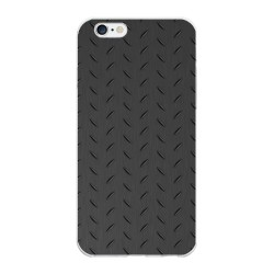 Funda Gel Tpu para Iphone 6 Plus / 6S Plus Diseño Metal Dibujos