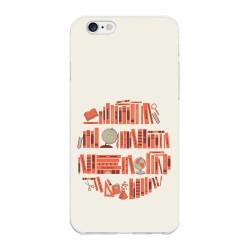 Funda Gel Tpu para Iphone 6 Plus / 6S Plus Diseño Mundo-Libro Dibujos