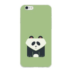 Funda Gel Tpu para Iphone 6 Plus / 6S Plus Diseño Panda Dibujos