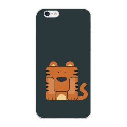 Funda Gel Tpu para Iphone 6 Plus / 6S Plus Diseño Tigre Dibujos
