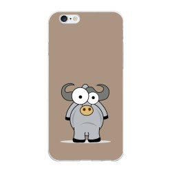 Funda Gel Tpu para Iphone 6 Plus / 6S Plus Diseño Toro Dibujos