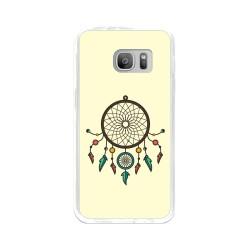 Funda Gel Tpu para Samsung Galaxy S7 Diseño Atrapasueños Dibujos