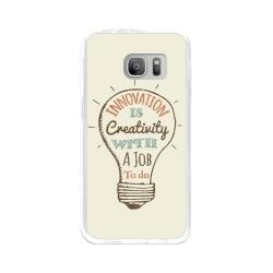 Funda Gel Tpu para Samsung Galaxy S7 Diseño Creativity Dibujos