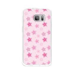 Funda Gel Tpu para Samsung Galaxy S7 Diseño Flores Dibujos