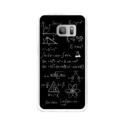Funda Gel Tpu para Samsung Galaxy S7 Diseño Formulas Dibujos