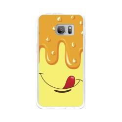Funda Gel Tpu para Samsung Galaxy S7 Diseño Helado Vainilla Dibujos