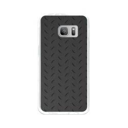 Funda Gel Tpu para Samsung Galaxy S7 Diseño Metal Dibujos