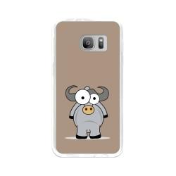 Funda Gel Tpu para Samsung Galaxy S7 Diseño Toro Dibujos
