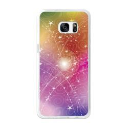 Funda Gel Tpu para Samsung Galaxy S7 Edge Diseño Abstracto Dibujos