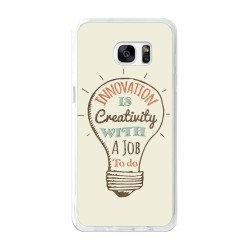 Funda Gel Tpu para Samsung Galaxy S7 Edge Diseño Creativity Dibujos