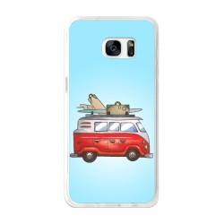 Funda Gel Tpu para Samsung Galaxy S7 Edge Diseño Furgoneta Dibujos