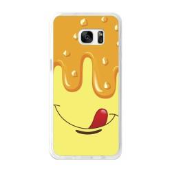 Funda Gel Tpu para Samsung Galaxy S7 Edge Diseño Helado Vainilla Dibujos