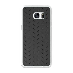 Funda Gel Tpu para Samsung Galaxy S7 Edge Diseño Metal Dibujos