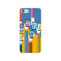 Funda Gel Tpu para Iphone 7 /  8 Diseño Apps Dibujos
