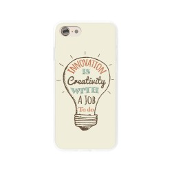 Funda Gel Tpu para Iphone 7 /  8 Diseño Creativity Dibujos