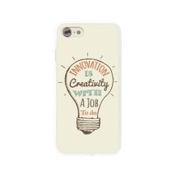 Funda Gel Tpu para Iphone 7 /  8 Diseño Creativity Dibujos