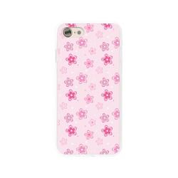 Funda Gel Tpu para Iphone 7 /  8 Diseño Flores Dibujos