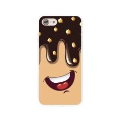 Funda Gel Tpu para Iphone 7 / 8 Diseño Helado Chocolate Dibujos