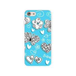 Funda Gel Tpu para Iphone 7 /  8 Diseño Mariposas Dibujos