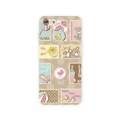 Funda Gel Tpu para Iphone 7 /  8 Diseño Sellos Dibujos