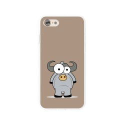 Funda Gel Tpu para Iphone 7 /  8 Diseño Toro Dibujos
