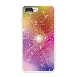 Funda Gel Tpu para Iphone 7 Plus / 8 Plus Diseño Abstracto Dibujos