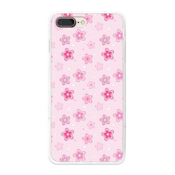 Funda Gel Tpu para Iphone 7 Plus / 8 Plus Diseño Flores Dibujos