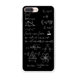 Funda Gel Tpu para Iphone 7 Plus / 8 Plus Diseño Formulas Dibujos