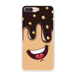 Funda Gel Tpu para Iphone 7 Plus / 8 Plus Diseño Helado Chocolate Dibujos