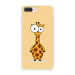 Funda Gel Tpu para Iphone 7 Plus / 8 Plus Diseño Jirafa Dibujos