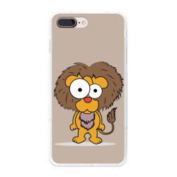 Funda Gel Tpu para Iphone 7 Plus / 8 Plus Diseño Leon Dibujos