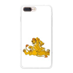 Funda Gel Tpu para Iphone 7 Plus / 8 Plus Diseño Leones Dibujos